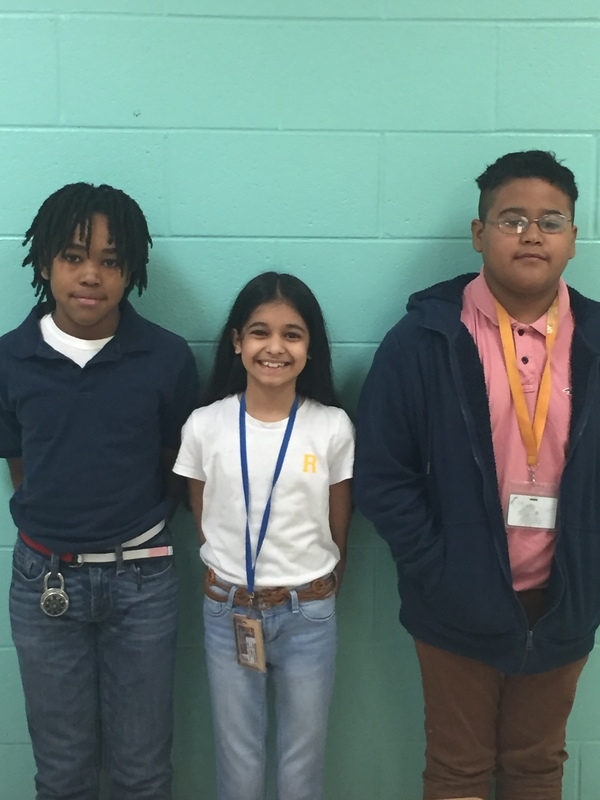 Grade Level Spelling Bee Winners
